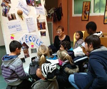 L'expo et les enfants