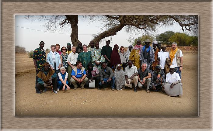Le groupe à Yaguiné en 2012