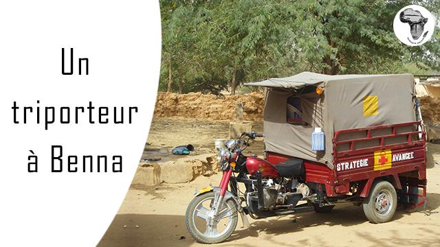 Un triporteur à Benna